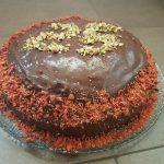 Chocoladetaart door Moniek