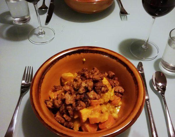 Oranje curry