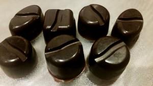 zelf gemaakte chocolade