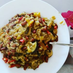 Curry met lekker veel groenten
