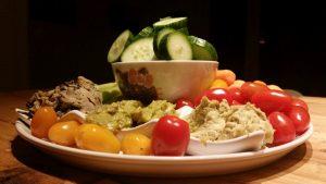 plateau groenten + dips