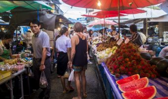 Thailand Koh Kood street food market