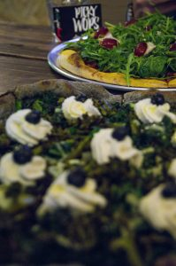 PickyWops London vegan pizza