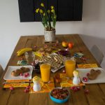 Paasbrunch; vegan, met ongeraffineerde suikers